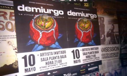Demiurgo en Granada. 10 de Mayo